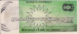 CPM BILLET DE BANQUE  CENTRALE  REPUBLIQUE LIBRE DU FRIOUL 40 -12 - Banques