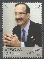 KOS 2017-16 ELIOT ENGEL, KOSOVO, 1 X 1v, MNH - Kosovo