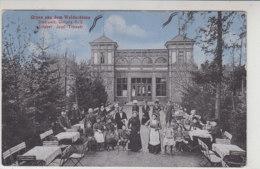 Gruss Aus Dem Waldschloss - Stadtwald, Gleiwitz O.-S. - 1910 - Schlesien
