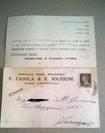 INDUSTRIA PASE ALIMENTARI F. CASOLA & SOLIMENE TORRE ANNUNZIATA (156) - Pubblicitari