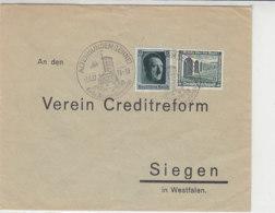 Brief Mit Netter Frankatur Aus ALTENHUNDEM (LENNE) 1.6.37 SST - Briefe U. Dokumente
