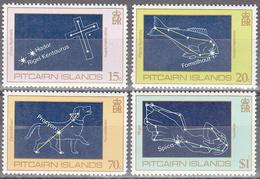 PITCAIRN ISL.      SCOTT NO. 244-47      MNH      YEAR  1984 - Timbres