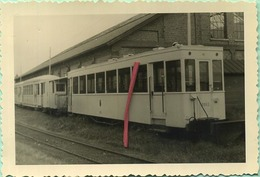 TRAM: 8963 :  KNOKKE Dépot  25/05/1958     :9 X 6 Cm ( See Detail ) - Trains
