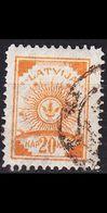 LETTLAND LATVIJA [1919] MiNr 0010 A ( O/used ) - Lettland