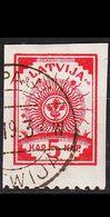 LETTLAND LATVIJA [1919] MiNr 0016 A ( O/used ) - Lettland