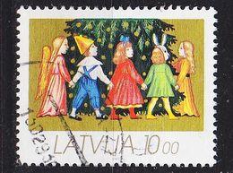 LETTLAND LATVIJA [1992] MiNr 0346 ( O/used ) Weihnachten - Lettland