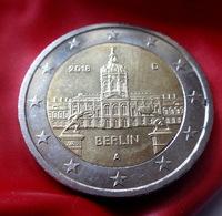 GERMANY  , Deutschland 2 Euro 2018 Berlin -  A -  EIRO  CIRCULEET  COIN - Allemagne