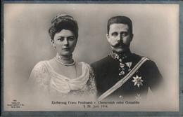 ! Alte Ansichtskarte Adel, Erzherzog Franz Ferdinand Von Österreich, Orden - Case Reali