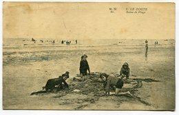 CPA - Carte Postale - Belgique - Le Zoute - Scène De Plage - 1920  (M8200) - Knokke