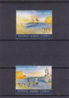 2004 - Cyprus Chypre Zypern  - Europa Cept  - YT N°1043 Et 1044** - 2004