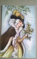CARTOLINA DISEGNATA  BUON ANNO    (166) - Illustratori & Fotografie