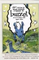 Etiquette Vin AUREL Festival BD Humour Burzet 2018 (Le Canard Enchainé...) - Dishes