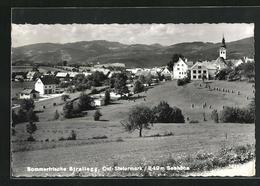 AK Strallegg, Blick Von Der Bergwiese Zum Ort - Autriche