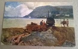 CARTOLINA DISEGNATA  FIRMATA SALA VIAGGIATA 1921  (168) - Illustratori & Fotografie