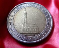 2 Euro 2008 -  F - Germany Hamburg Allemagne Germany Alemania Германия Deutschland CIRCULEET  COIN - Allemagne