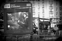 Saint-Ouen-Métro-Station Mairie (Edition à Tirage Limité) - Métro