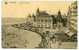 CPA - Carte Postale - Belgique - Ostende - Dijk En Kursaal - 1920 (M8205) - Oostende