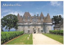 France Montbazillac Le Chateau Postcard Unused Good Condition - France