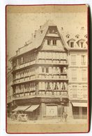 Photo Sur Carton Format : 106*165 Mm STRASBOURG 67 Maison BALD Dos Blanc   VOIR DESCRIPTIF  §§§§§ - Photographie