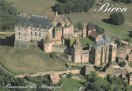 France Chateau De Biron Postcard Unused Good Condition - France