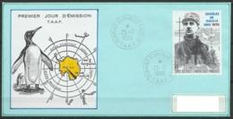 TAAF - Terre Adélie - PA118 100e Ann. Naissance Général De Gaulle Oblit. 1e Jour Dumont D'Urville 25-12-1990 - Terres Australes Et Antarctiques Françaises (TAAF)