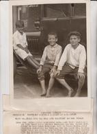 WASHINGTON BOYS PRESIDENT WILSON ROCK CREEK PARK PIERCE ARROW LIMOUSINE  NIÑOS KIDS   Fonds Victor FORBIN (1864-1947) - Coches