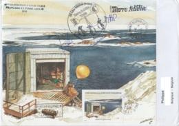 TAAF - Terre Adélie -  68e Mission Météo - Oblit Dumont D'Urville /14-11-2018 (envel. Grand Format) - Terres Australes Et Antarctiques Françaises (TAAF)