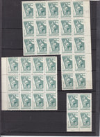 CHINA LOT 45 PIECES  FROM SET 1538 WITHOUT GUM AS ISSUED - Neufs