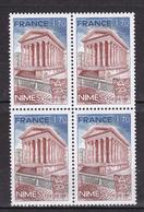 N° 2133 La Maison Carrée à Nîmes: Un Bloc De 4 Timbres Neuf Impeccable Sans Charnière - Unused Stamps