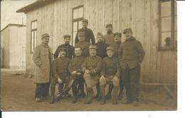 Carte Photo De L'aspirant F.Ydier Des Sables D'Olonne En 1918 Dans Un Stalag - Personnages