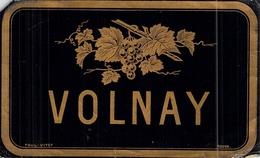 Bistrot Etiquette De Vin ANCIENNE Volnay - Rouges