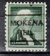 USA Precancel Vorausentwertung Preo, Locals Illinois, Mokena 716 - Vereinigte Staaten