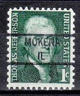 USA Precancel Vorausentwertung Preo, Locals Illinois, Mokena 841 - Vereinigte Staaten