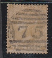 Great Britain SG 86 1862 9d Bistre, Used - 1840-1901 (Victoria)