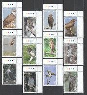 XX063 2018 !!! EXCLUSIVE NIUAFO'OU FAUNA BIRDS OF PREY EAGLES OWLS !!! 22 EURO NOMINAL 1 BIG SET MNH - Owls