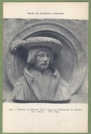 CPA - MUSÉE DE LA SCULPTURE COMPARÉE - BUSTE DE DIEUDONNÉ DE MONTAL - CHATEAU DE MONTAL - N°1482 - Sculture