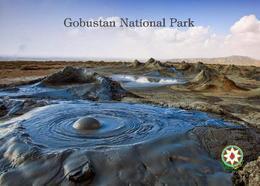 Azerbaijan Gobustan Volcanoes UNESCO New Postcard Aserbaidschan AK - Aserbaidschan