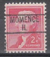 USA Precancel Vorausentwertung Preo, Locals Illinois, Momence 839 - Vereinigte Staaten