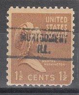 USA Precancel Vorausentwertung Preo, Locals Illinois, Montgomery 734 - Vereinigte Staaten