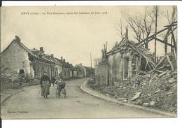 Méry-La Rue Monsieur,après Les Combats De Juin 1918 - France