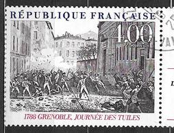 FRANCE  2538 La Journée Des Tuiles à Grenoble En 1788 Bicentenaire De La Révolution Philexfrance 89. - Oblitérés
