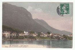 Suisse (GE) - St. GINGOLPH - Lac Léman - édit. Charnaux Frères, 5814 - GE Genève