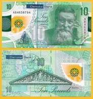 Northern Ireland 10 Pounds P-new 2017(2019) Danske Bank UNC Banknote - [ 2] Ireland-Northern