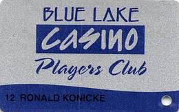 Blue Lake Casino Calif Slot Card - Casino Cards