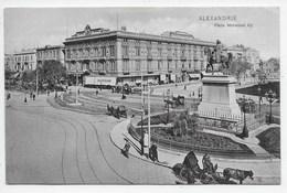 Alexandrie - Place Mahamed Aly  - Ephtimios Ala.54 - Alexandrie
