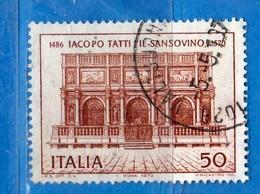 ITALIA ° - 1970 - JACOPO TATTI - SANSOVINO - Unif. 1129 - Usato,  Vedi Desrizione - 1961-70: Oblitérés