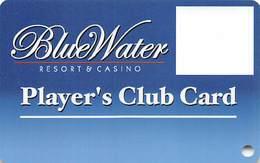 BlueWater Casino Parker, AZ - BLANK Slot Card - Casino Cards