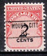 USA Precancel Vorausentwertung Preo, Locals Illinois, Mound City 748 - Vereinigte Staaten