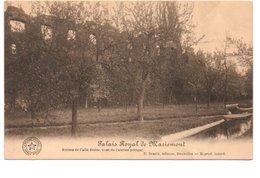 PALAIS ROYAL DE MARIEMONT. RUINES DE L' AILE DROITE.... - Belgique