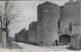 LA CAVALERIE ( Aveyron)- Les Remparts De La Couvertoirade Bâtis Par Les Templiers - La Cavalerie